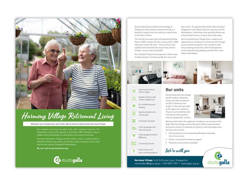 Doutta Galla Harmony Village brochure