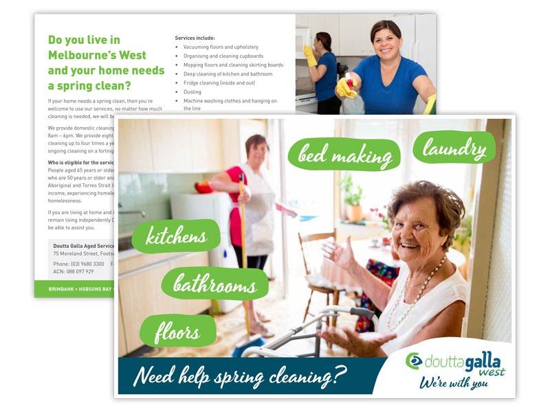 Doutta Galla cleaning brochure