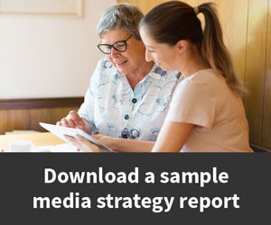 Media strategy report banner ad