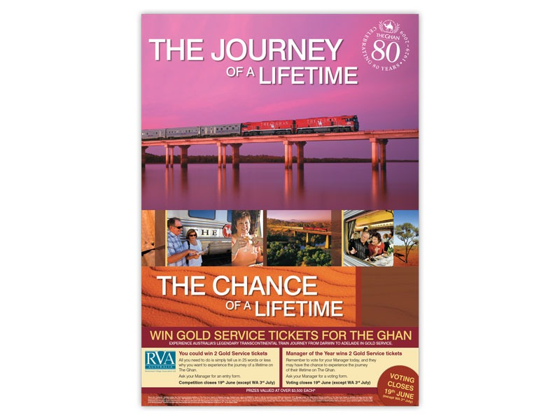 The Ghan poster