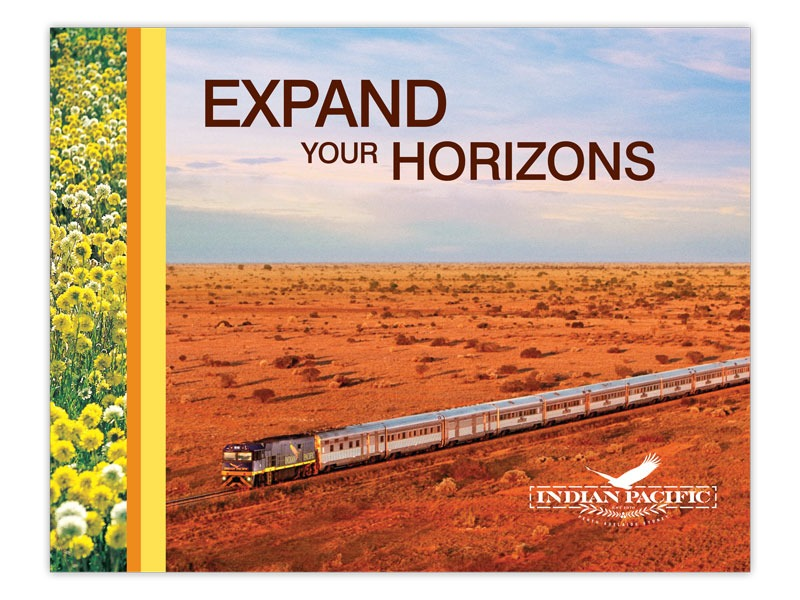 Indian Pacific direct mail front