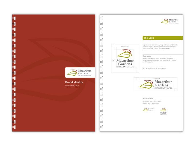 Macarthur Gardens brand guidelines