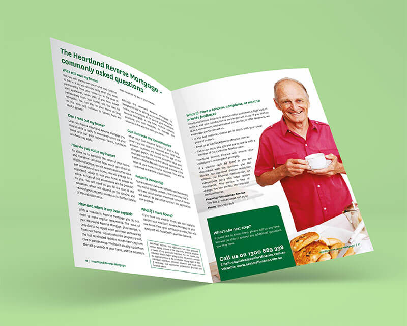 Australian Seniors Finance brochure