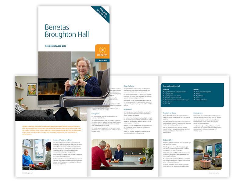 Benetas Broughton Hall brochure