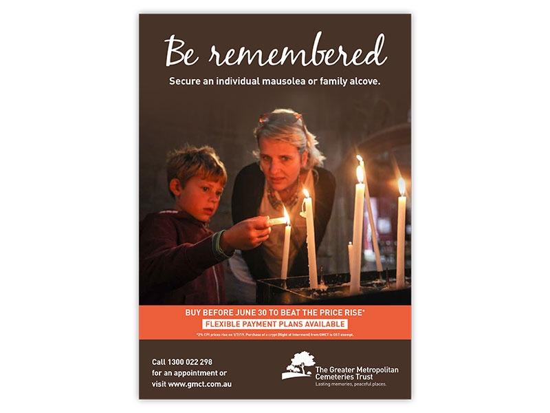 Greater Metropolitan Cemeteries Trust poster