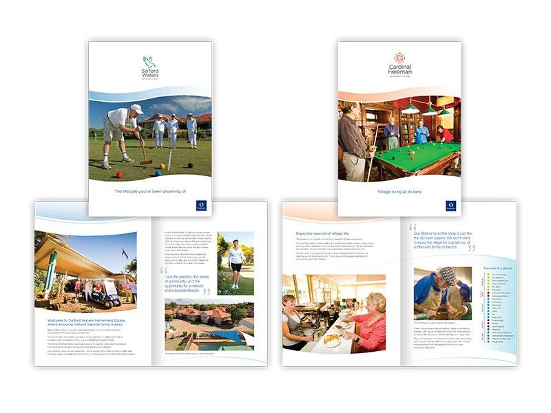 Stockland Retirement brochures